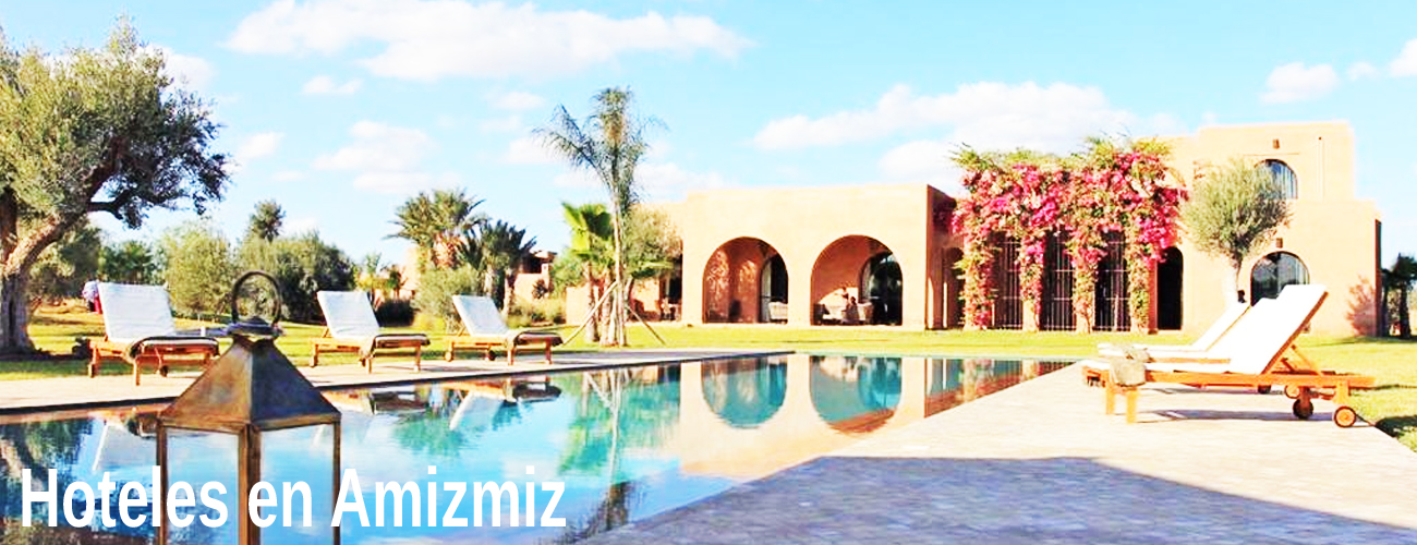 Hoteles en Amizmiz